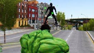 getlinkyoutube.com-The Incredible Hulk vs Green Goblin - Epic Battle