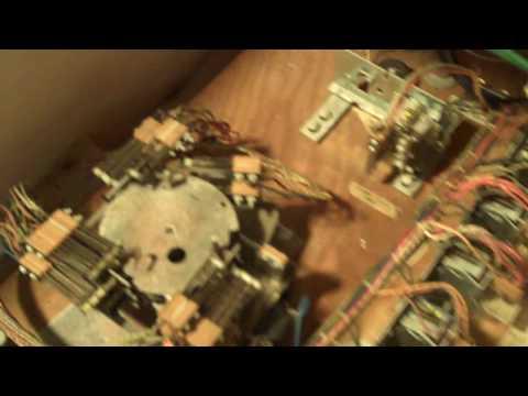 Inside a Pinball Machine Cabinet - Tour of the Electronics of an Electromechanical Pinball