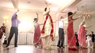 getlinkyoutube.com-Indian Wedding Dance Melbourne 2012
