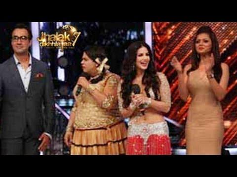 Sunny Leone's HOT APPEARANCE on Jhalak Dikhla Jaa Season 7 14th June 2014 FULL EPISODE 3