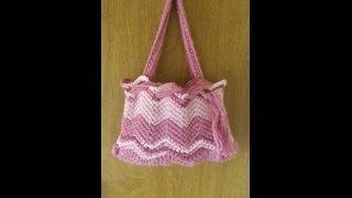 getlinkyoutube.com-CROCHET How to #Crochet Chevron Stitch Purse #TUTORIAL #84