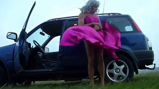 getlinkyoutube.com-Lady in Red on a windy Location