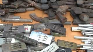 getlinkyoutube.com-ทำลายอาวุธปืนของกลางกว่า 3.4 หมื่นกระบอก