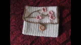getlinkyoutube.com-Crochet hook case & Infinity scarf! :)