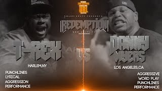 getlinkyoutube.com-T-REX VS DANNY MYERS SMACK/ URL RAP BATTLE