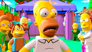 getlinkyoutube.com-LEGO Dimensions A Springfield Adventure All Cut Scenes & Ending (The Simpsons Level Pack)