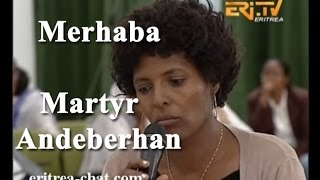 getlinkyoutube.com-ኤርትራ Eritrean Merhaba Interview with Bisrat About Her Martyr Father Andeberhan