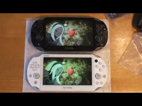 PlayStation Vita 2000 LCD Vs OLED