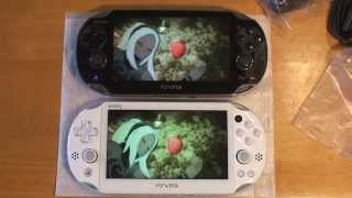 getlinkyoutube.com-PlayStation Vita 2000 LCD Vs OLED