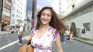 getlinkyoutube.com-DJI OSMO TEST SHOOT in GINZA with YUUKA SAWACHI