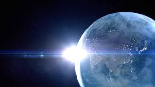 getlinkyoutube.com-[フリーHD映像素材]地球・光・太陽・宇宙・壮大[Free/HDfootage/Earth]