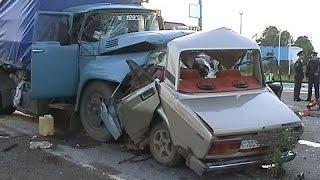 getlinkyoutube.com-#12 Очень страшные Аварии ЗИМА Январь 2016 - ДТП Car Crash Compilation winter HD