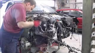 getlinkyoutube.com-VW Jetta. The front body repair. Ремонт переда.