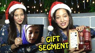 getlinkyoutube.com-Gift Segment : Preetika Rao aka Alia Overwelmed By Gifts From Fans