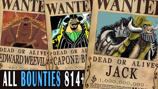 getlinkyoutube.com-All Bounties updated to chapter 814+ in ONE PIECE