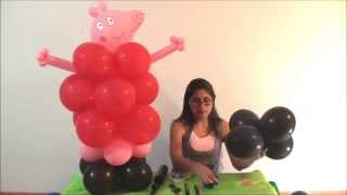 George Pig y Peppa Pig globoflexia
