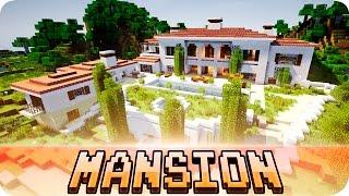 getlinkyoutube.com-Minecraft - Beautiful Italian Mansion - House Map w/ Download