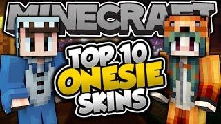 getlinkyoutube.com-Top 10 Minecraft ONESIE SKINS! - Best Minecraft Skins