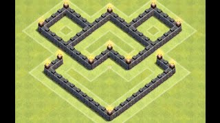 getlinkyoutube.com-*Clash Of Clans* Town Hall 4 Farming Base 2 0