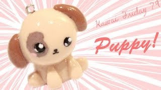 getlinkyoutube.com-◕‿‿◕Puppy! Kawaii Friday 79 - Tutorial in Polymer clay!