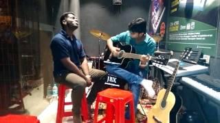 Hamdard  guitar cover
