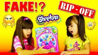 getlinkyoutube.com-FAKE SHOPKINS - SHOCKED! Don't be fooled by fake Shopkins!!!