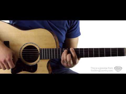 Boys 'Round Here Blake Shelton Guitar Lesson and Tutorial