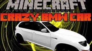 getlinkyoutube.com-Minecraft Mod Showcase - Crazy BMW Car Mod -  Mod Review