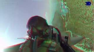 getlinkyoutube.com-First Ever F-16 DEMO Flight - Real 3D Video - HD 3D!!!