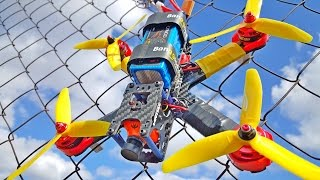 How to Build a FPV racing drone? Lantian+F4+2300KV+ESC 20A...