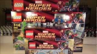 getlinkyoutube.com-Lego Marvel Superheroes Sets 6865, 6866, 6867. 6868, 6869 Brick Box Update.