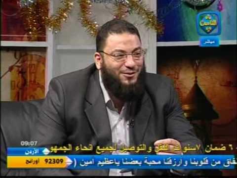 موقف مضحك جداااااااااااااااا يحكيه الشيخ حازم شومان للدكتور مظهر  شاهين على قناة الناس