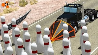 getlinkyoutube.com-Beamng drive -  Bowling Crashes Fails (with real sounds)