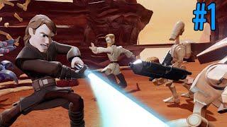 getlinkyoutube.com-AVENTURA POR LA GALAXIA (Disney Infinity 3.0 Star Wars) #1