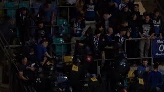 Grasshoppers Zürich Fans vs. police 10.01.2015
