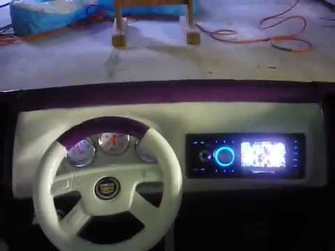 vulgar display of power wheels Custom candy escalade light's part 2