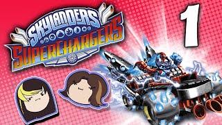 getlinkyoutube.com-Skylanders Superchargers: Take the Treasure! - PART 1 - Grumpcade