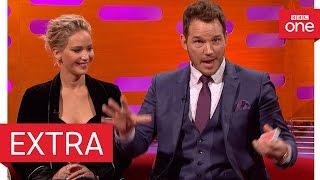getlinkyoutube.com-Chris Pratt's epic card trick fail - The Graham Norton Show 2016 | Extra - BBC One