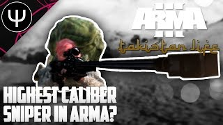 getlinkyoutube.com-ARMA 3: Takistan Life Mod — Highest Caliber Sniper Rifle in ARMA?!