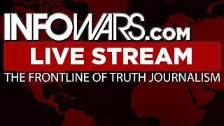 LIVE 📢 Alex Jones Infowars Stream With Today's Shows • Tuesday 2/20/18