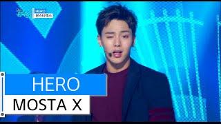 [HOT] MONSTA X - HERO, 몬스타엑스 - 히어로, Show Music core 20151212