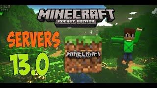 getlinkyoutube.com-LOS MEJORES SERVERS PARA MinecraftPE 13.0