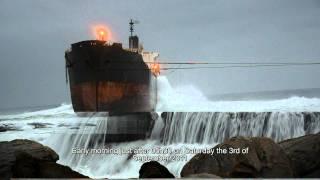 getlinkyoutube.com-The Re-floating of the MT Phoenix tanker