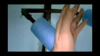 getlinkyoutube.com-WING CHUN construción de muñeco(wooden dummy)