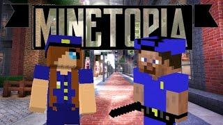 EEN DAGJE MET DE POLITIE MEE!! - Minetopia - #322 | Minecraft Reallife Server