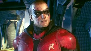 getlinkyoutube.com-Batman: Arkham Knight - Telling Robin the Truth