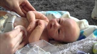 getlinkyoutube.com-Powdering Full Body Silicone Baby