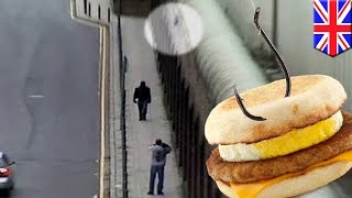 getlinkyoutube.com-Prison smuggling: UK man uses fishing line to sneak drugs and McMuffins into prison - TomoNews