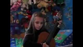 getlinkyoutube.com-8 Years of Practising Guitar - Tina S