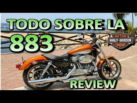 Harley Davidson  883 SUPERLOW | Review en Espanol ? Blitz Rider